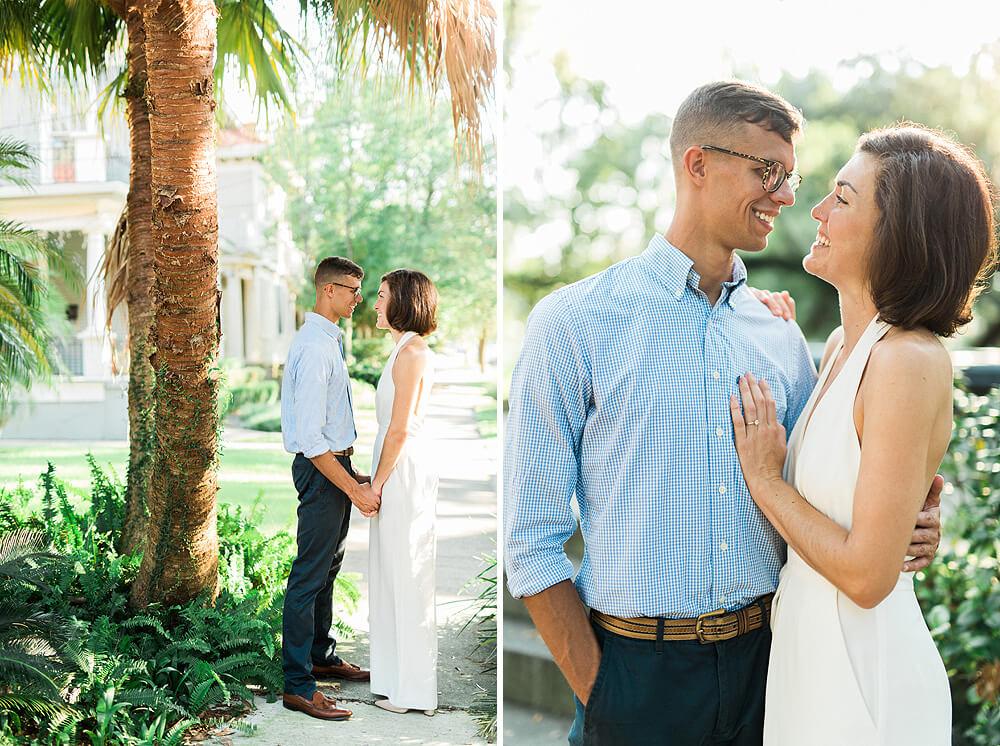 City Park Engagement Photographs