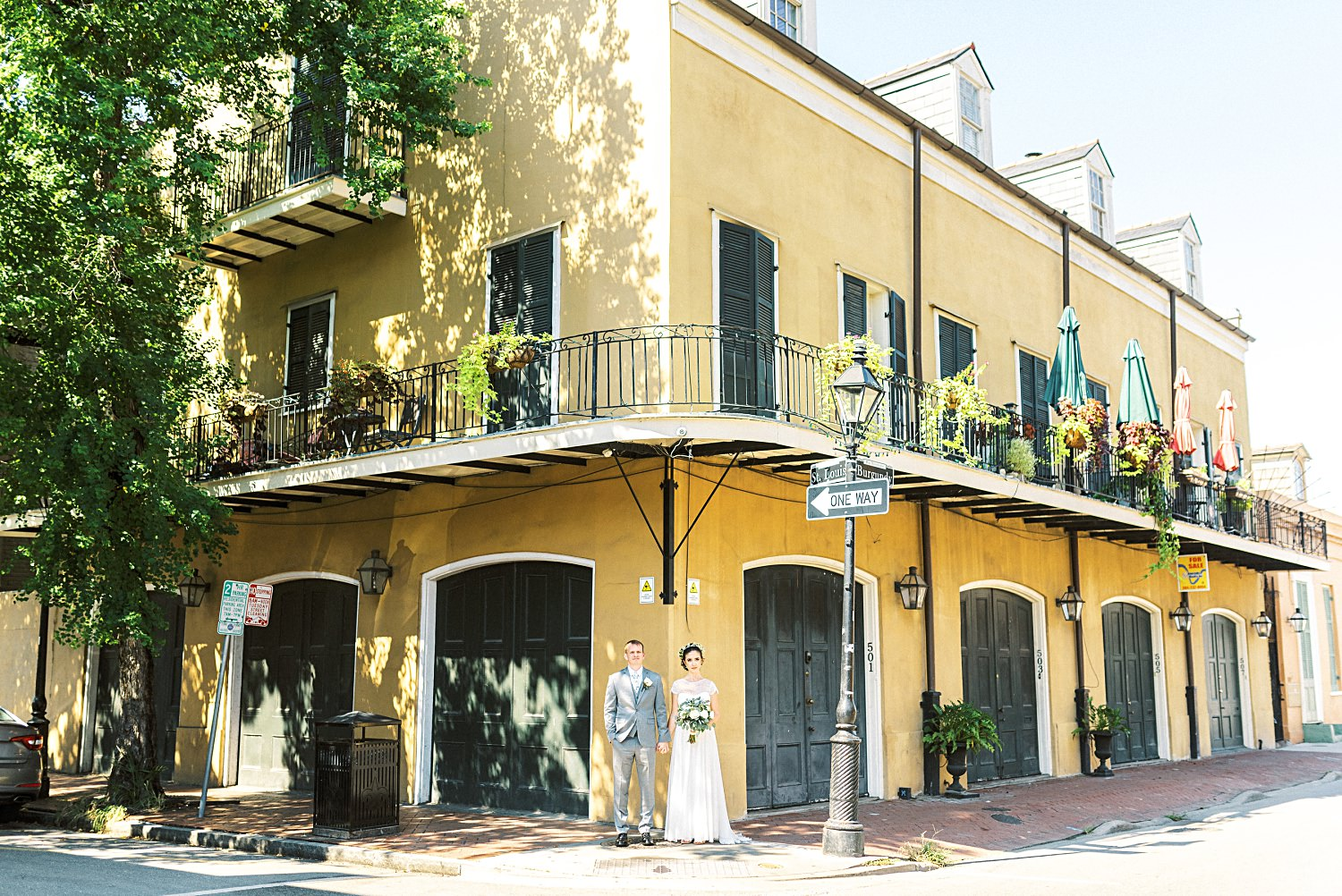 French Quarter Wedding New Orleans