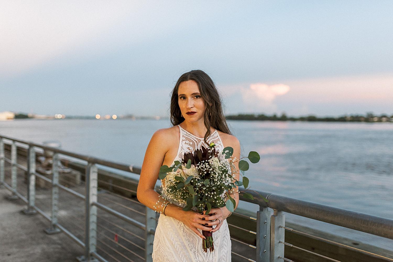 Crescent Park New Orleans Wedding