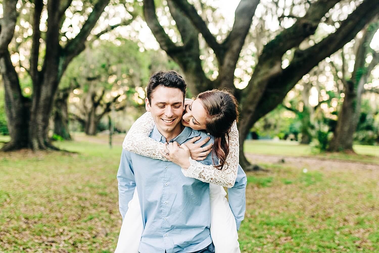 New Orleans City Park Engagement Photos