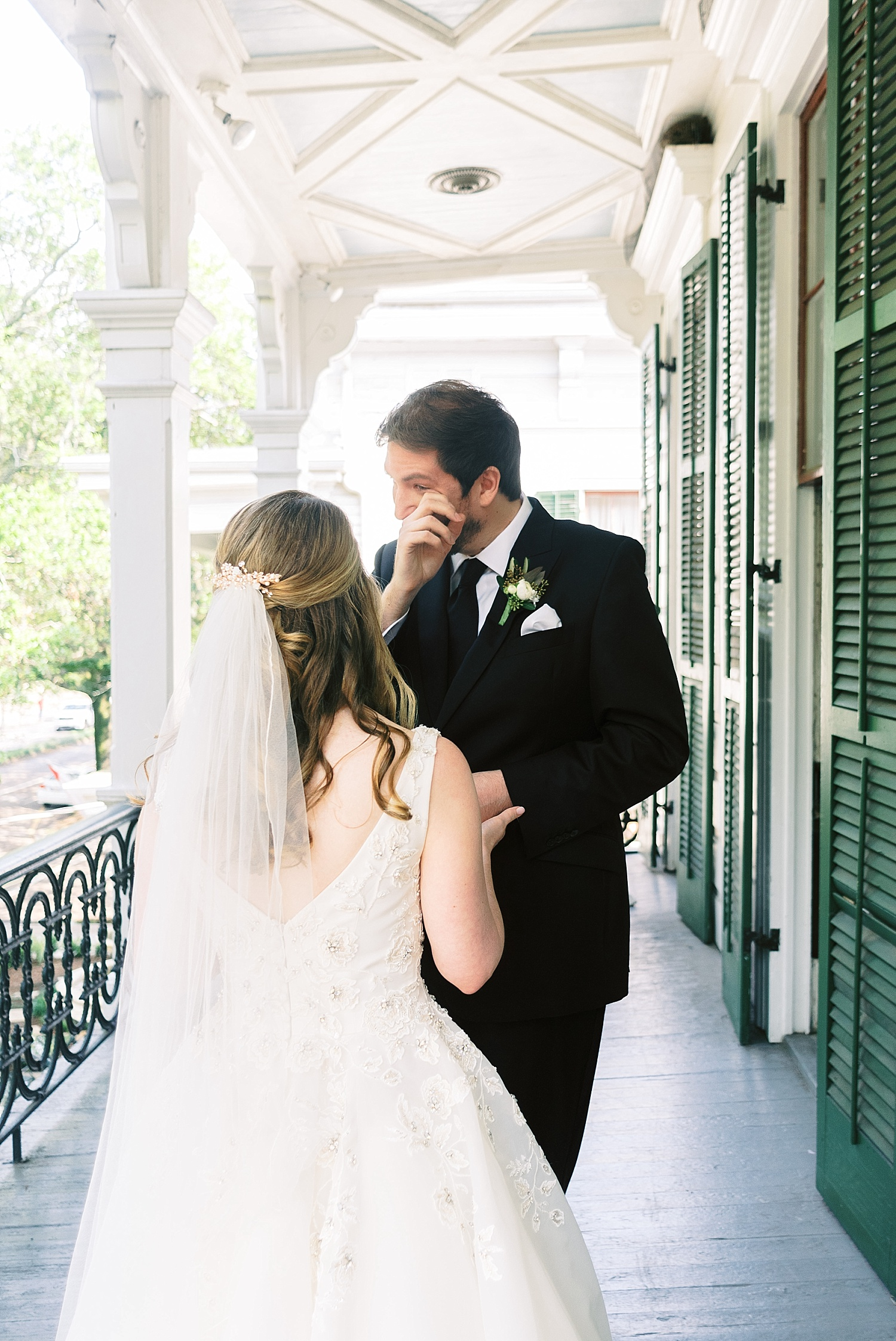 Degas House Wedding First Look
