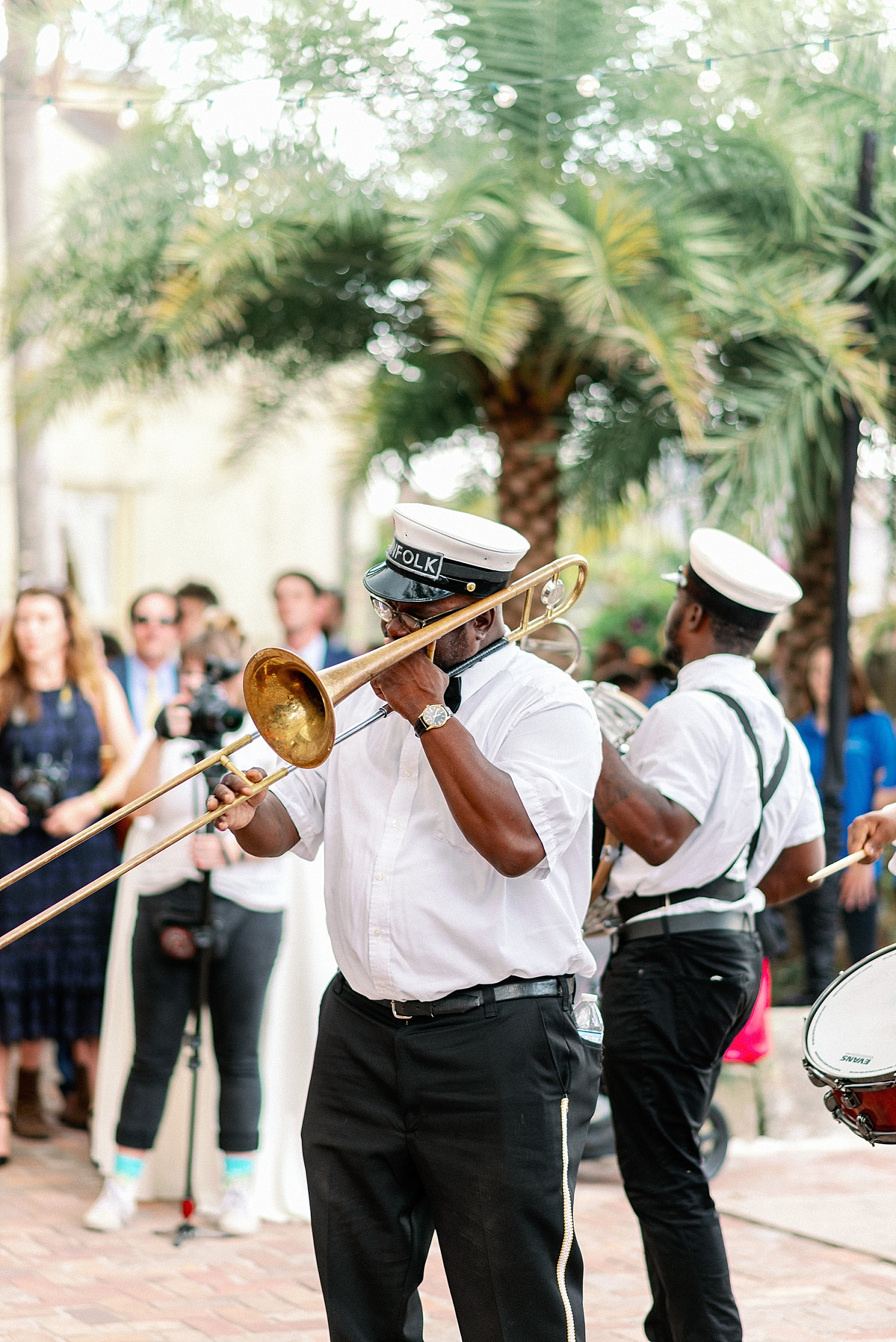 Race and Religious Wedding Second Line