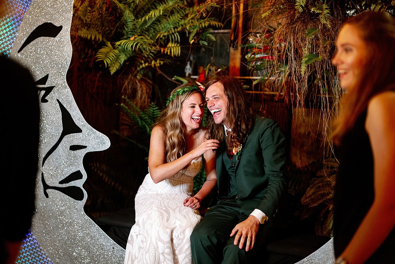 Race and Religious Wedding Photo Booth